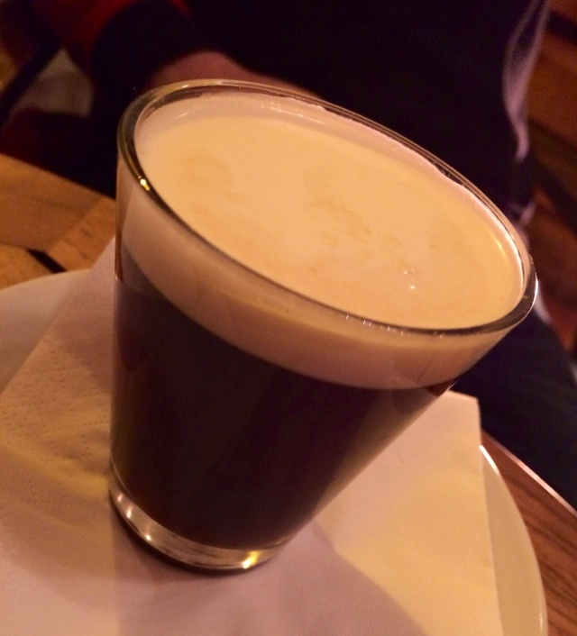 Santi's Irish coffee